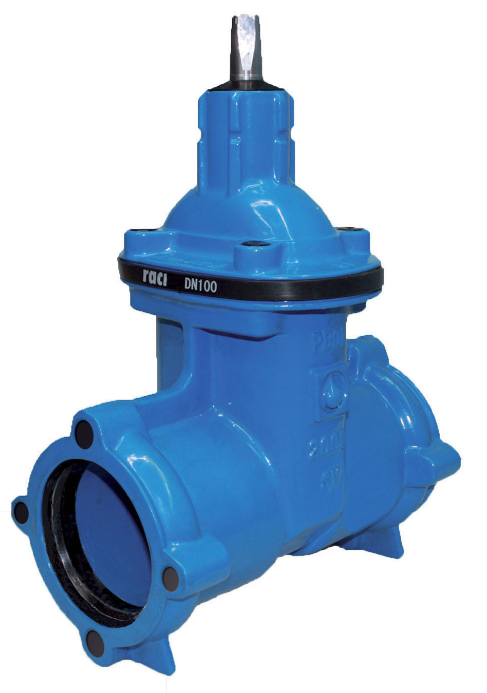 Gate valves socket ends for pvc pipes